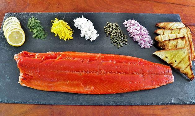 Cold smoked salmon recipe for Cold smoking fish