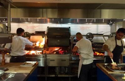 Wood burning grill restaurant-400