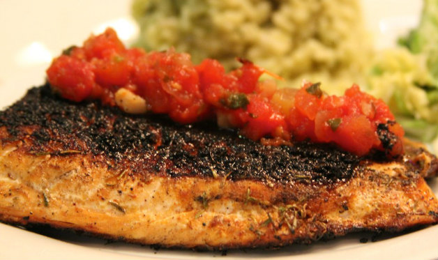 Blackened redfish for Red fish recipes