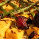 Recipe of the Week: Tuscan Grilled Polenta & Vegetable Platter