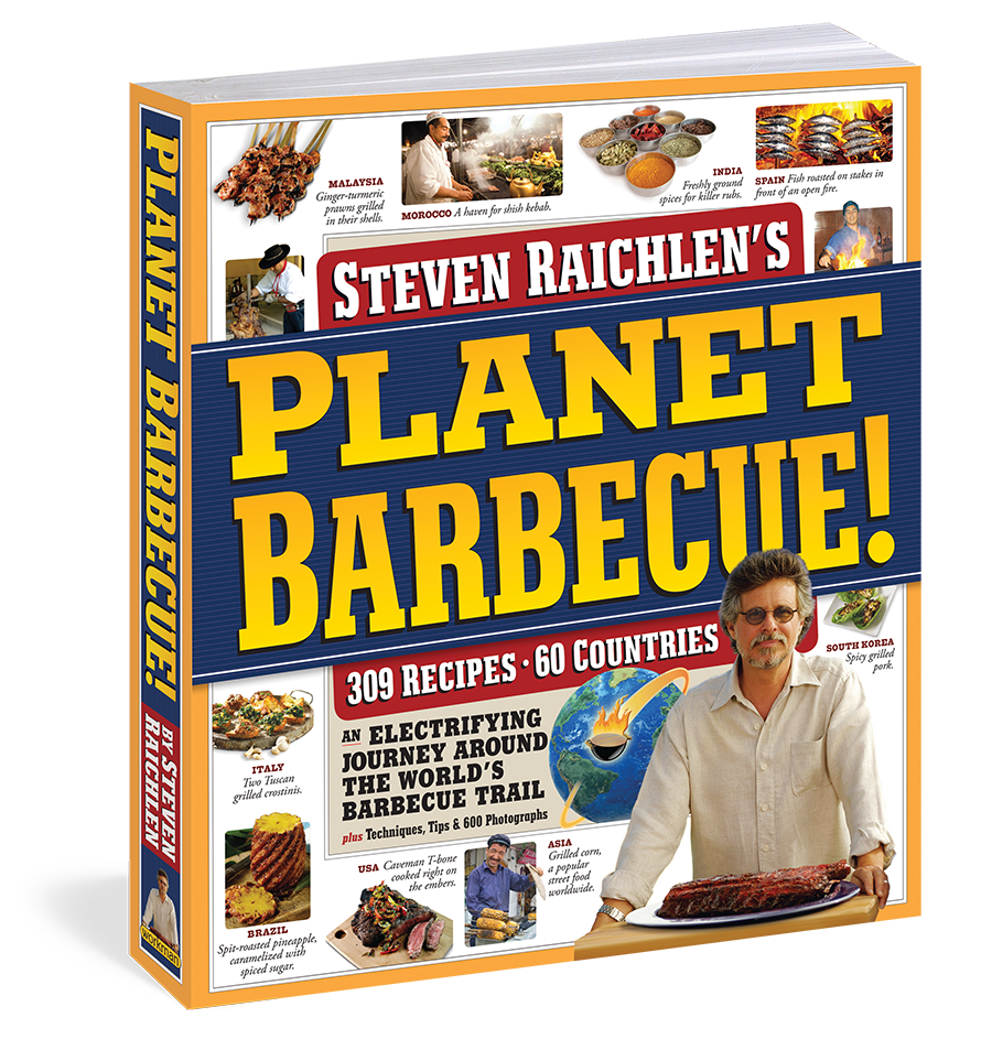 Book – Planet BBQ
