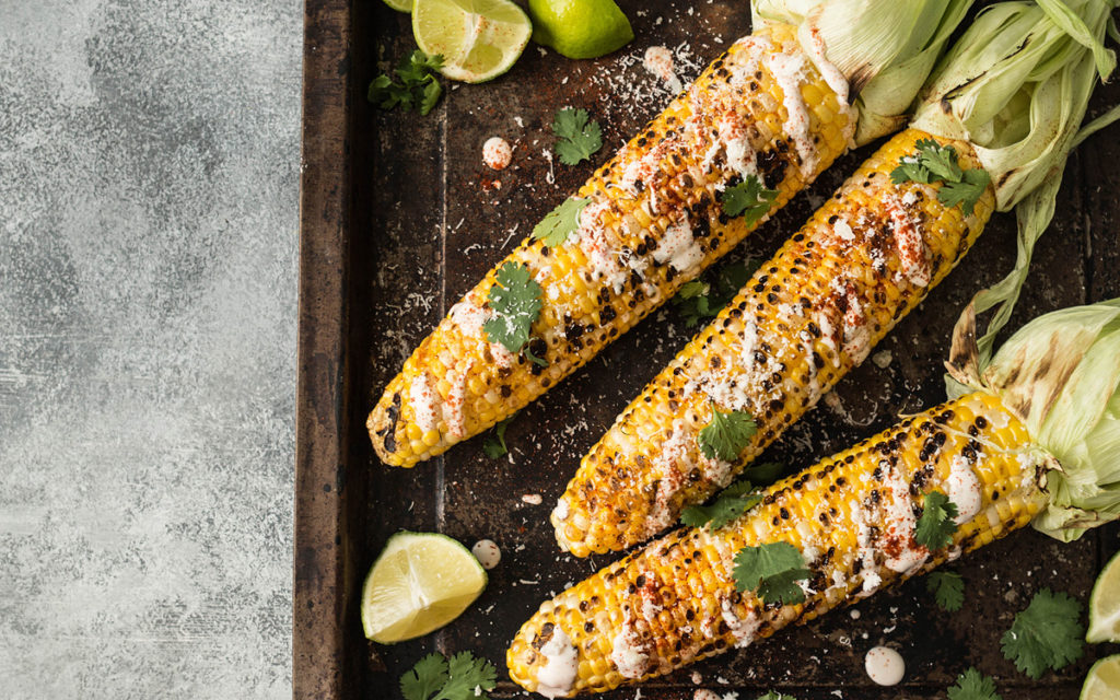 Windy City Mexican Grilled Corn