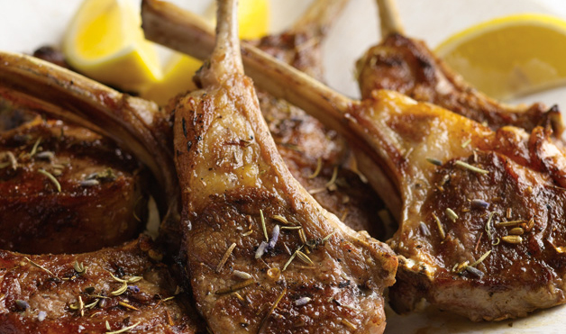 Grilled Lamb With Herbes De Provence Recipe