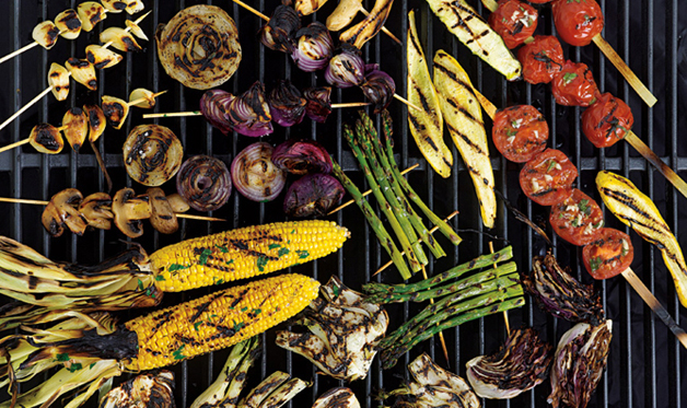 Grilling Vegetables Barbecuebible Com