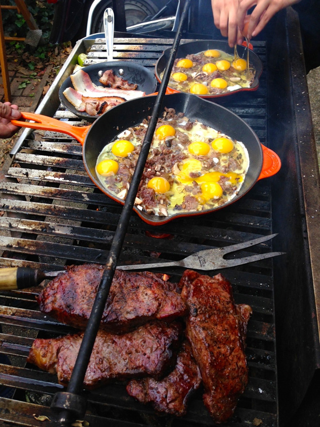 Breakfast On The Grill Barbecuebible Com