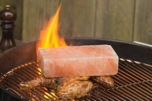 Salt Block Grilling!