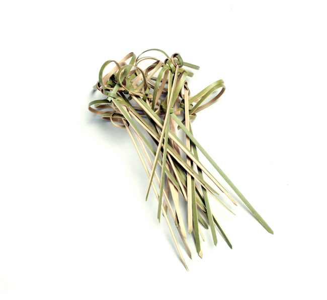 Knotted Bamboo Skewers Barbecuebible Com