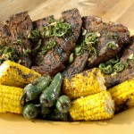 Tucson T-Bone and Grilled Corn