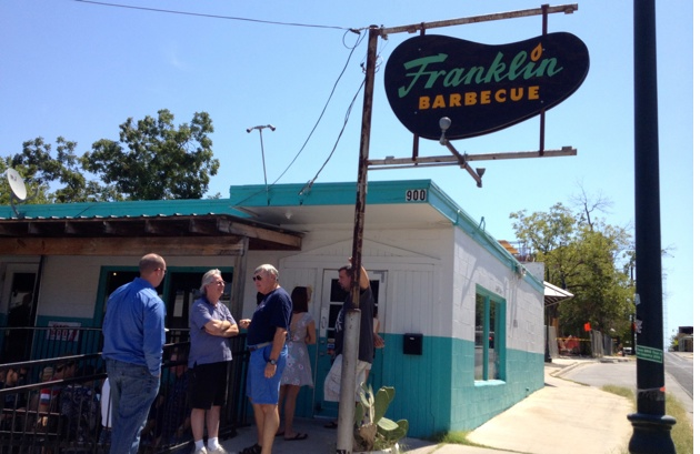 The Best Brisket in Texas? Franklin BBQ