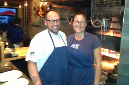 Greg and Gabrielle Denton of Ox Restaurant