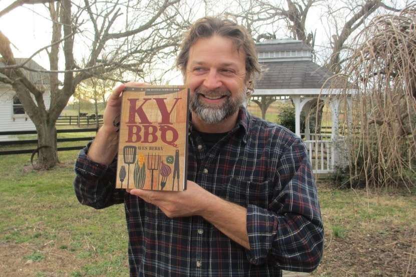 Wes Berry Holding KY BBQ Book