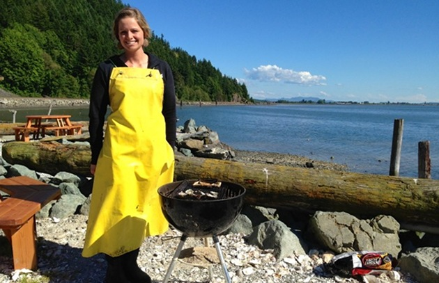 An Oyster Roast on Samish Bay