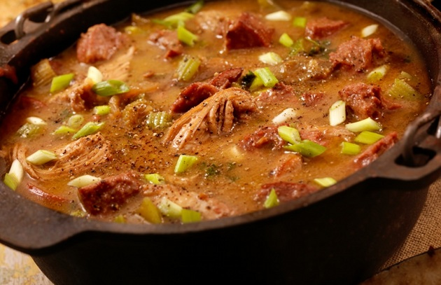 Just in Time for Mardi Gras—Gumbo Gets Smoked
