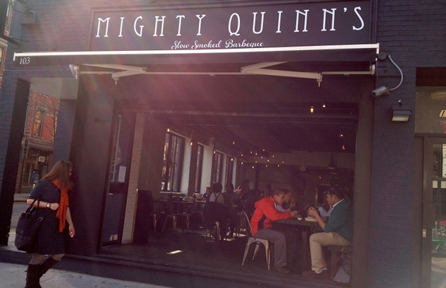 6 Questions for Hugh Mangum, Chef-Owner of Mighty Quinn's Barbeque