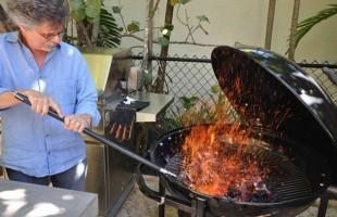 Steven Raichlen's Barbecue Birthday Menu
