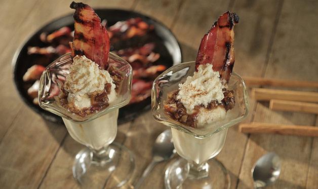 Bacon Sundaes
