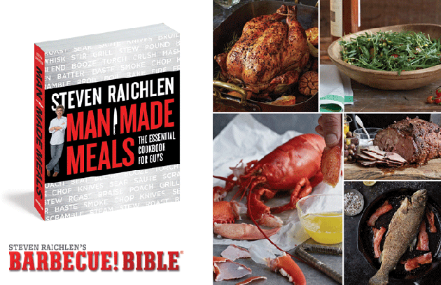 Win a Copy of Man Made Meals: The Essential Cookbook for Guys