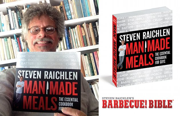 My New Book, Man Made Meals, is Here