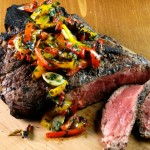 Recipe of the Week: Caveman T-Bones with Bell Pepper Hash