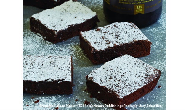 Cherry Lambic Brownies Recipes — Dishmaps