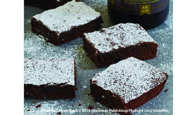 Cherry Lambic Brownies Recipes — Dishmaps