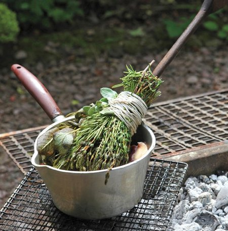 Herb Basting Brush