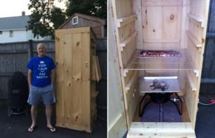 My Home-Built Smokehouse