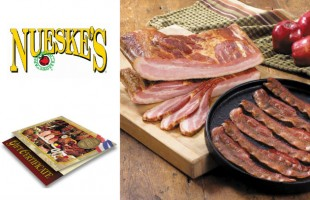 Enter for a Chance to Win One of Three $100 Gift Certificates for Nueske's Smoked Meats