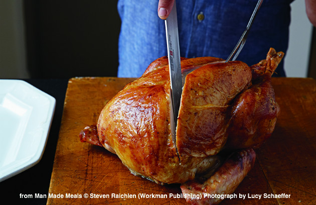 How to carve a turkey barbecuebible