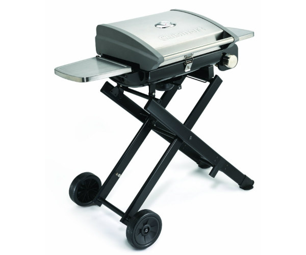 Cuisinart All Foods Roll Away Gas Grill Barbecuebible Com