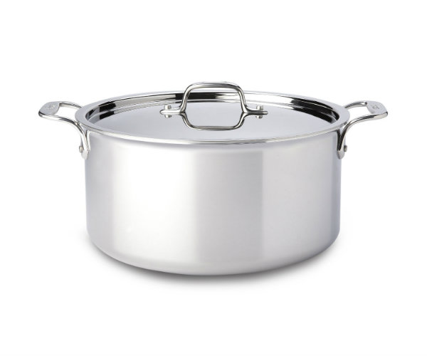 All Clad Stainless Steel 8 Quart Stockpot Barbecuebible Com
