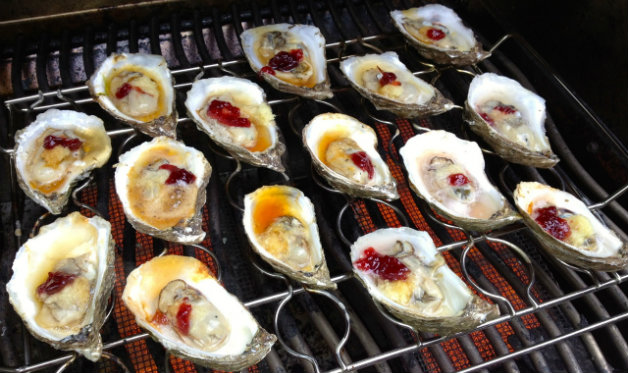 Barbecued Oysters Barbecuebible Com