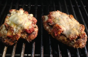 What I'm Grilling Now: Chicken Parmesan