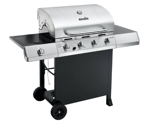char broil gas grill with side burner. Black Bedroom Furniture Sets. Home Design Ideas