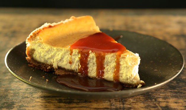Smoked cheesecake