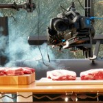 Cameras, meat and smoker