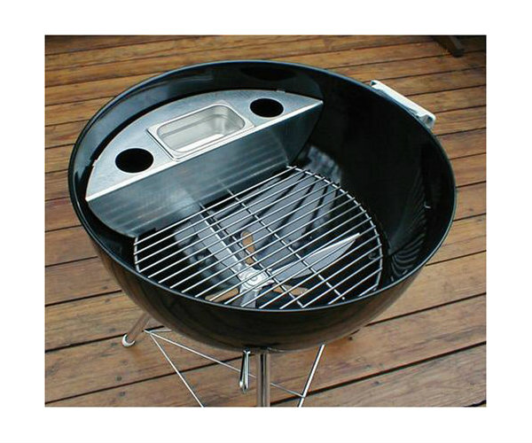 Smoker Kit For 22 Inch Kettle Grill Barbecuebible Com