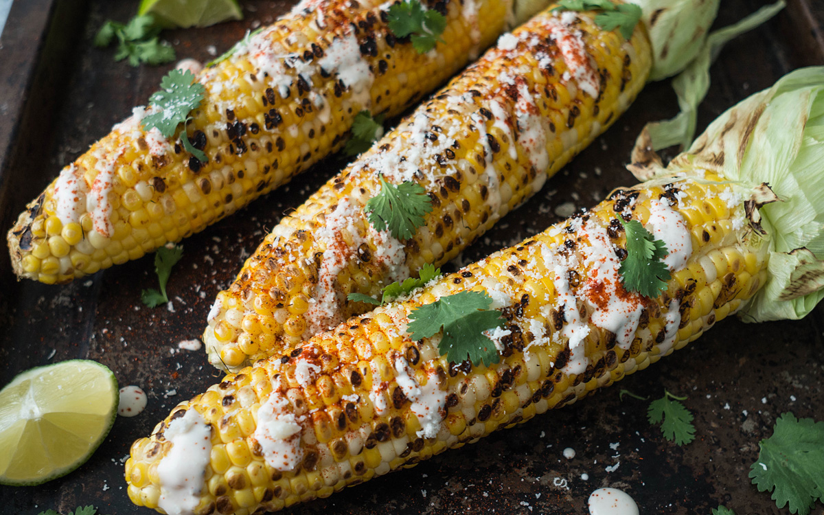 Grilling Corn - cover