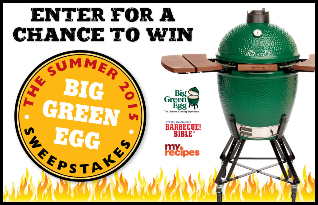 Summer 2015 Big Green Egg Sweepstakes