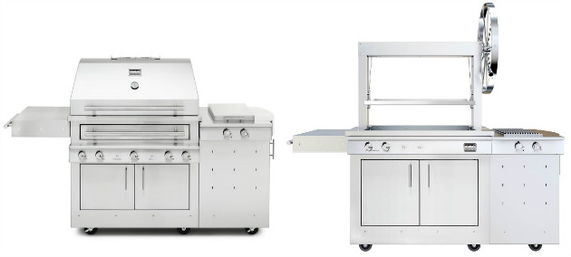 Kalamazoo Hybrid Fire Grill and Gaucho Grill