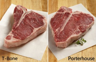 T-Bones and Porterhouses: What's the Difference?