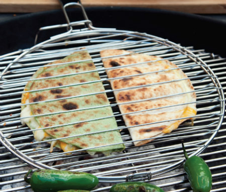 Best of Barbecue Stainless Quesadilla Basket