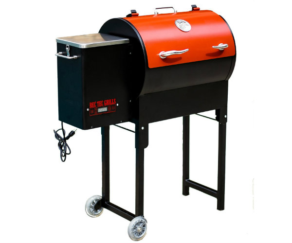 Rec Tec Mini Portable Pellet Grill Barbecuebible Com
