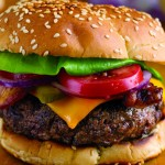 Great American Hamburger with Cheese