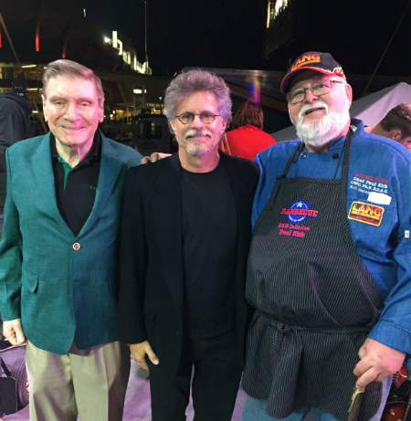 Ed Fisher, Steven Raichlen, and Paul Kirk