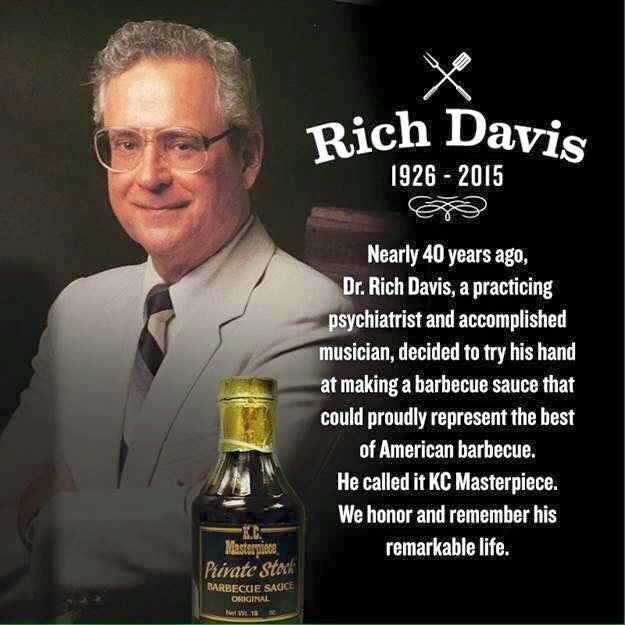 The Sauce Doctor—May He Rest in Peace