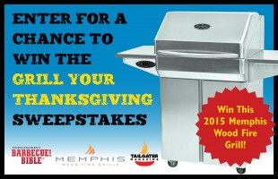 Grill Your Thanksgiving Sweepstakes