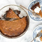 Grilled Pumpkin Pie with Hickory-Smoked Ginger Snap Crust