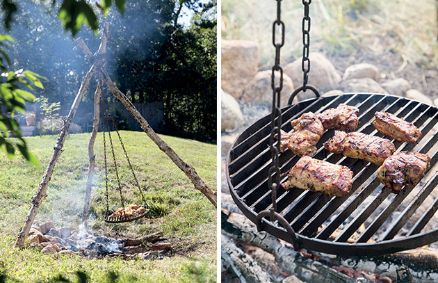 By Erin Kibby How To Make A Schwenker German Swinging Grill