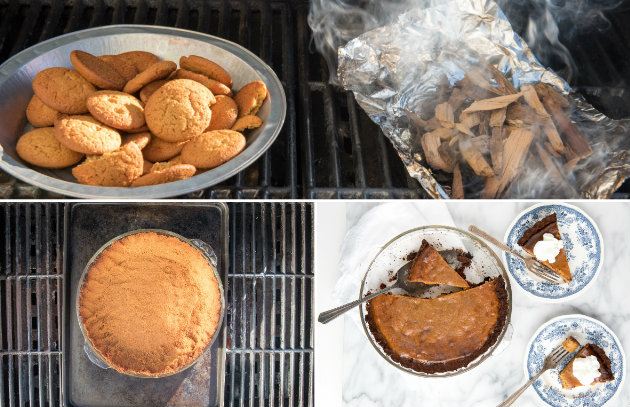 Applying Lessons Learned at BBQ U: Pumpkin Pie Hits the Grill